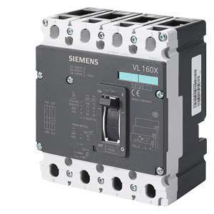 Автоматический выключатель Siemens Sentron VL160X N, 3VL1704-1EA43-0AA0