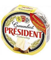 Сыр Camembert naturalny President 190гр