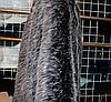 Опушка из эко меха 70 см ЧБК