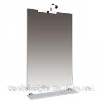 Зеркало Тритон Диана-60 с подсветкой и полочкой