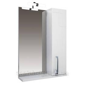 Зеркало Тритон Диана-75 с подсветкой и шкафчиком (L/R)