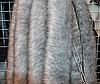 Опушка из эко меха 70 см серая