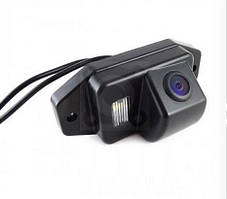 Штатная камера заднего вида Falcon SC01HCCD. Toyota Prado