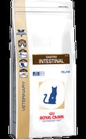 Royal Canin GASTRO INTESTINAL FELINE0,4кг  диета для кошек при нарушениях пищеварения.