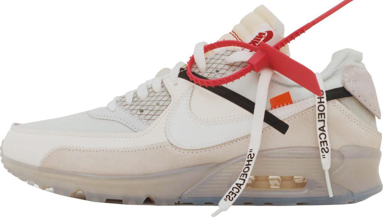 Мужские Кроссовки Nike Air Max 90 X Off-White Light — в Категории