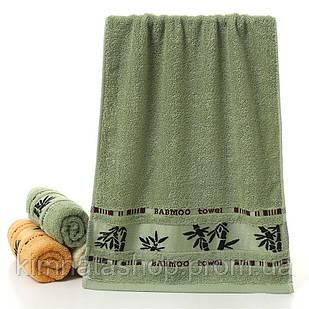 Рушник махровий бамбукове см 140x70