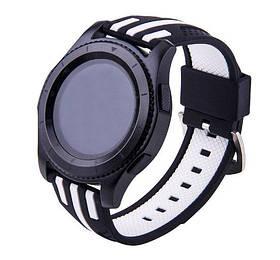 Силіконовий ремінець Primo Dart для годин Samsung Gear S3 Classic SM-R770 / Frontier RM-760 - Black&White
