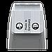 Машинка для стрижки MOSER 1400 Primat Mini,titan, фото 3