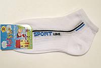 Тонкие носки в сетку для мальчика белого цвета