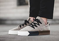 "Женские Кроссовки Alexander Wang x Adidas Originals Skate ""Brown/Beige"""