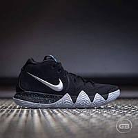 Мужские Баскетбольные кроссовки Nike Kyrie 4 ''Black&White'', фото 1