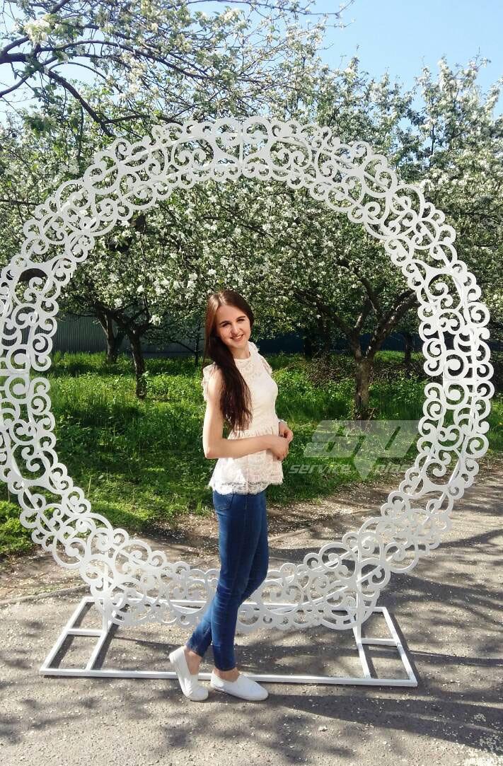 """Свадебная арка """"Круговорот любви"""""""