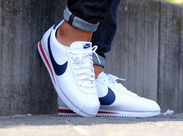 c7c586a9 switzerland nike classic cortez leather white red blue 454aa 68a15