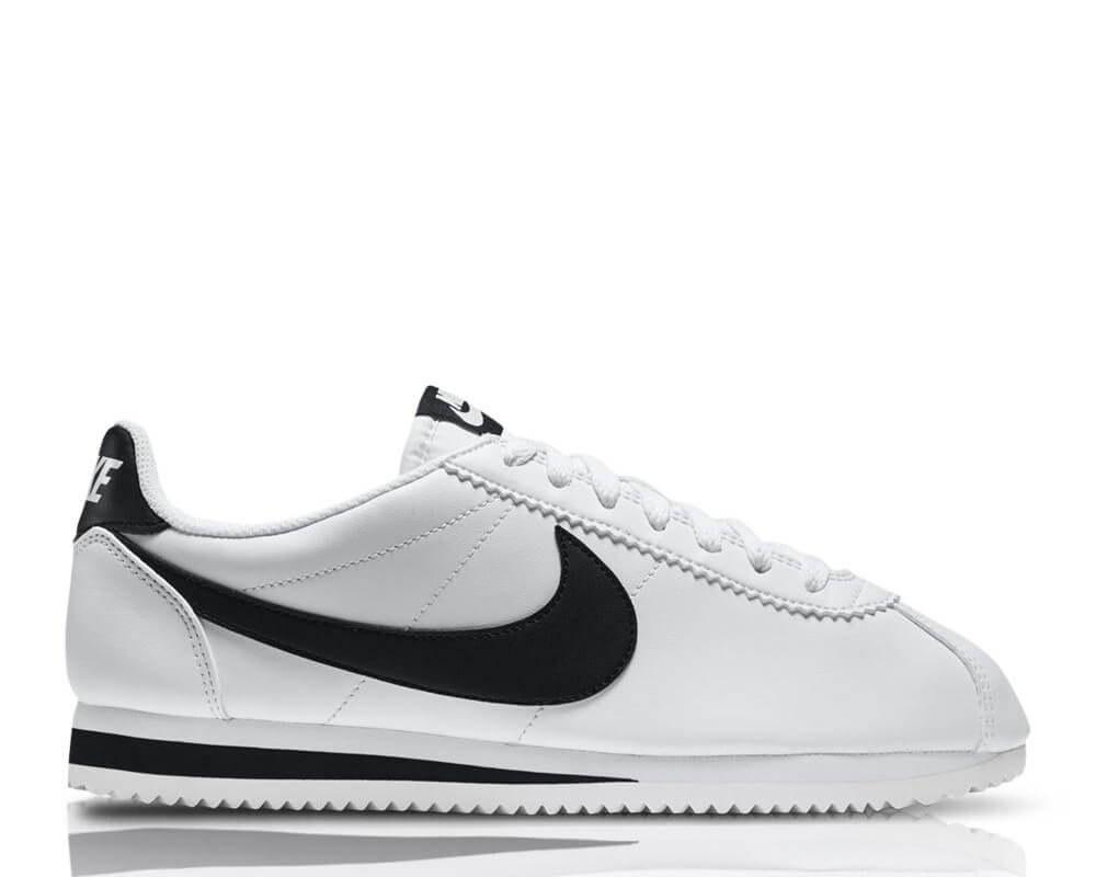 "Мужские Кроссовки Nike Classic Cortez Leather ""White/Black"" , фото 1"