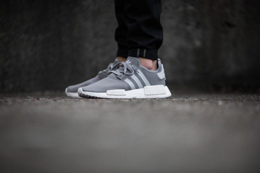 """Женские Кроссовки Adidas NMD Runner """"Solid Grey"""" , фото 1"""
