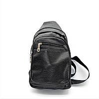 Мужская сумка-рюкзак из искусственной кожи через плечо LKI-093370, фото 1