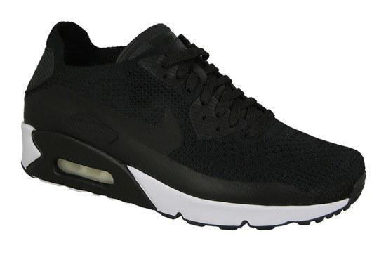 "Мужские Кроссовки Nike Air Max 90 Ultra 2.0 Flyknit ""Black"", фото 1"