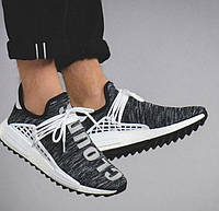 "Мужские Кроссовки Pharrell Williams x Adidas NMD Human Race ""Core Black/White"""