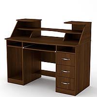 Офисный стол Компанит Комфорт-5 1268х650х756+282 мм дсп, фото 1