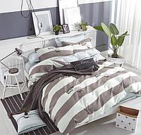 Евро комплект постельного белья 200*220 из сатина  Скандинавия