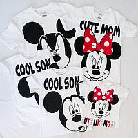 Цифровая печать на детских футболках