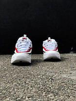 Мужские/Женские кроссовки в стиле Fila Ray Red/Blue, фото 2