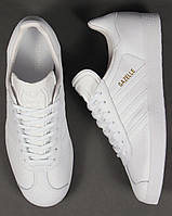 "Мужские кроссовки Adidas Gazelle Leather Trainers ""White"""