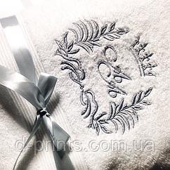 Машинна вишивка на рушниках