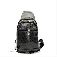 Мужская сумка-рюкзак из искусственной кожи через плечо LKI-090600, фото 1