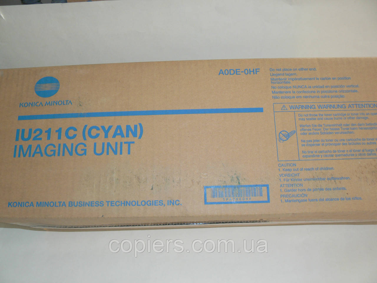 IU211 C Cyan Drum Unit C203/253, 55/75t, оригинал Konica Minolta