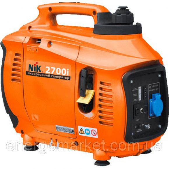 Инверторный бензиновый генератор NIK PG 2700i