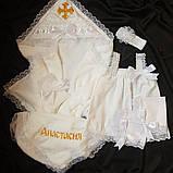 Набор на крестины Ангел для девочки 5 предметов, фото 2