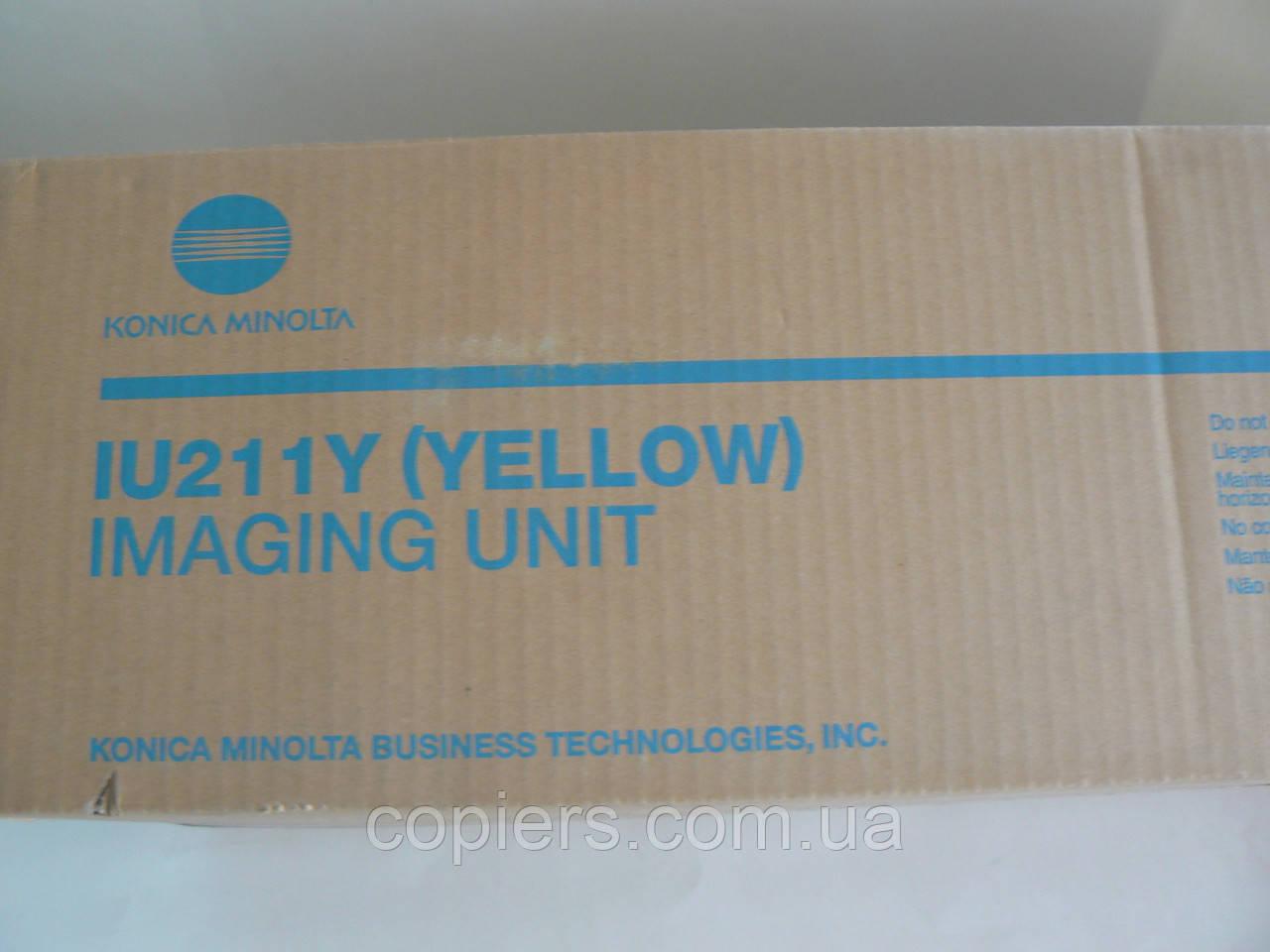 IU211 Y Imaging Unit Bizhub C203/253, IU 211Y, оригинал, A0DE06F