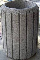 Тротуарна бетонна Урна сіра