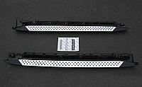 Боковые пороги БМВ X3 / BMW X3 2005-2011, фото 1