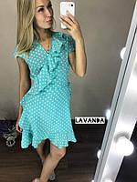 Красивое платье в горох!!!
