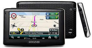 Отличный GPS навигатор GoClever Navio 430 FE в Подарок карты Украины и Европы, фото 3