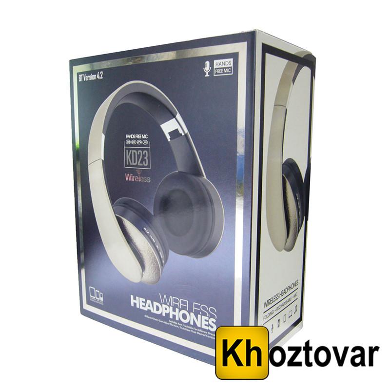 Беспроводные наушники KD 23 Headphones