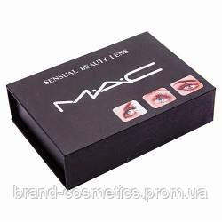 Цветные линзы косметические Mac Brown (Коричневые)