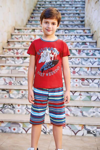 Футболка с шортами для мальчика BERRAK 5331