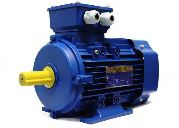 Электродвигатель АИР80А4, електродвигун, фото 2