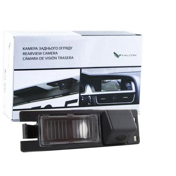 Штатная камера заднего вида Falcon SC24-HCCD. Opel Astra 2004+/Combo 2003+/Corsa 2006+/Insignia 2008+/Tigra