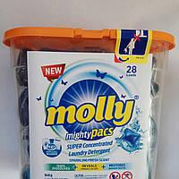 Капсулы для стирки Молли / Molly 28шт