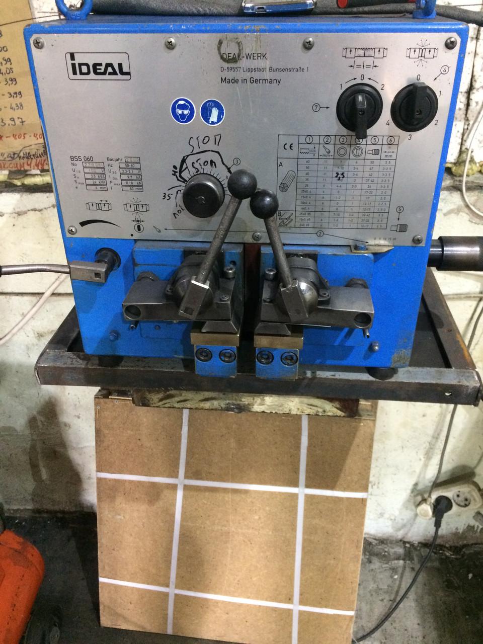Сварочный аппарат для  ленточных пил IDEAL WERK   BSS-060