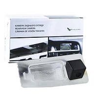 Штатная камера заднего вида Falcon SC28-HCCD. Mazda 3 4D 2014+, фото 1