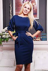 Платье с поясом в 5ти цветах Жанна