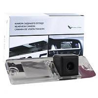 Штатная камера заднего вида Falcon SC29-HCCD. Mitsubishi Pajero Sport 1996-2009/Pajero Wagon 3/4 1999+