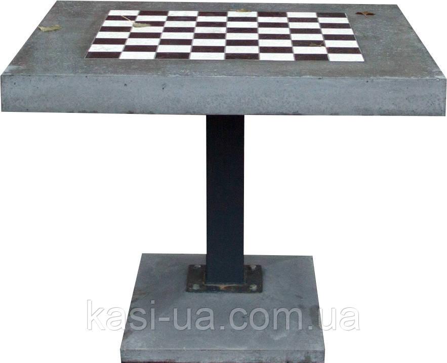 Стол шахматный бетонный URBAN 2
