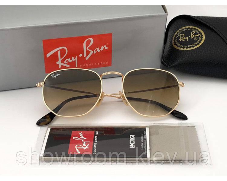 Женские солнцезащитные очки в стиле RAY BAN 3548  001/51 Lux