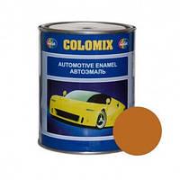 Автокраска 208 Охра золотистая COLOMIX алкидная краска 1л